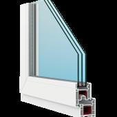 Профиль окна FORTE 58