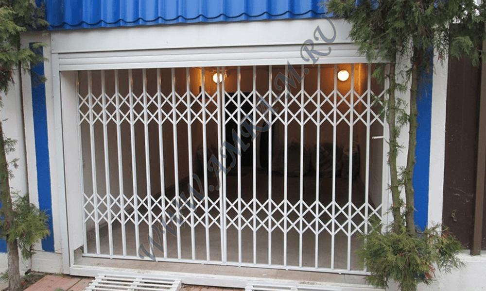 Раздвижные решетки производство стальных дверей в марий эл.